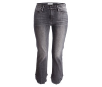Jeans LE HIGH STRAIGHT - grau