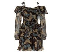 Off-Shoulder-Kleid VEDA mit Glitzergarn