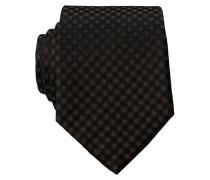 Krawatte - schwarz/ khaki