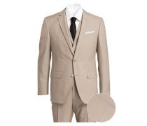 Anzug HUTSON4/ GANDER1 Slim-Fit - beige