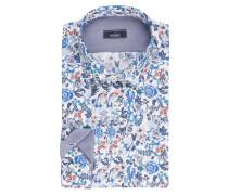 Hemd TET2 Tailor-Fit - weiss/ blau