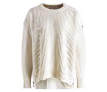 Pullover mit Cashmere-Anteil - ecru