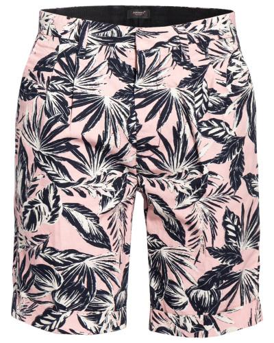 Chino-Shorts mit Leinen