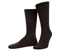 2er-Pack Socken - braun