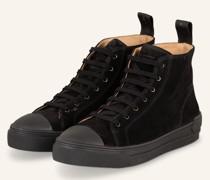 Hightop-Sneaker COURT - SCHWARZ