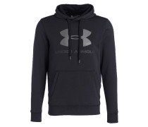 Hoodie RIVAL FITTED GRAPHIC - schwarz