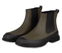 Chelsea-Boots PIX - OLIV/ SCHWARZ