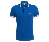 Piqué-Poloshirt PADDY Regular-Fit - blau