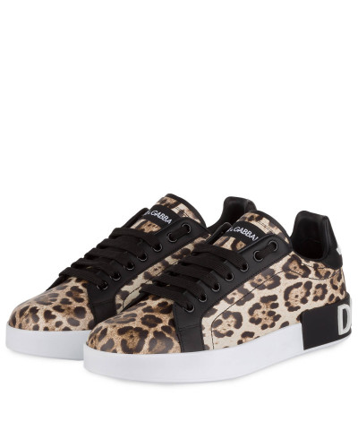 Sneaker PORTOFINO - BEIGE/ SCHWARZ/ BRAUN