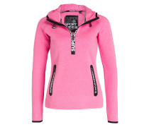 Hoodie GYM TECH - pink