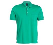 Piqué-Poloshirt modern fit - grün