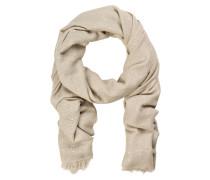 Cashmere-/Seide-Schal mit Paillettenbesatz