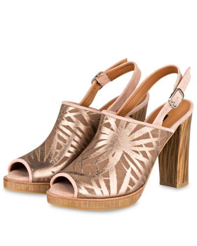Altrosa Mujer Metallic Sandalias Plataforma Zinda De Para 6wxhp4 FKJ1cl