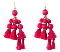 Ohrringe PRETTY POMS - pink