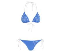 Triangel-Bikini JESSY - blau