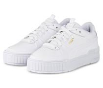 Plateau-Sneaker CALI SPORT - WEISS