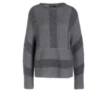 Pullover mit Alpaka-Anteil - grau