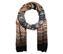 Schal - beige/ schwarz
