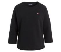 Sweatshirt THIRZA mit 3/4-Arm - schwarz