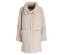 Mantel mit Alpaka-Anteil - sand