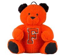 Teddy-Rucksack MASCOT - orange/ schwarz