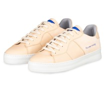 Plateau-Sneaker LOW PLAIN - NUDE