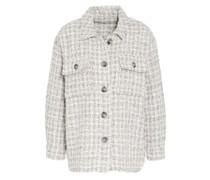Overshirt aus Tweed