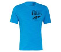 T-Shirt ACTIVCHILL GRAPHIC MOVE mit Mesh-Einsatz