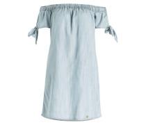 Off-Shoulder-Kleid ALEXIA - hellblau