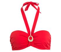Bandeau-Bikini-Top BEACH ESSENTIALS - rot