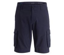 Cargo-Bermudas Loose-Fit - blau