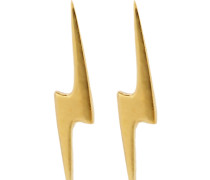 Ohrstecker LIGHTNING BOLT - gold