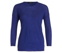 Cashmere-Pullover ROSARIA - blau