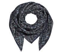 Tuch - dunkelblau/ grün/ braun