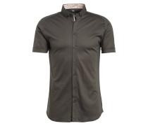 Kurzarm-Hemd Slim Fit aus Jersey