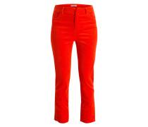7/8-Cordhose RIDGEWOOD - orangerot