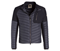 Lightweight-Daunenjacke WARRIOR im Materialmix