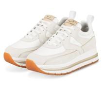 Plateau-Sneaker JUNEE - ECRU/ HELLGRAU