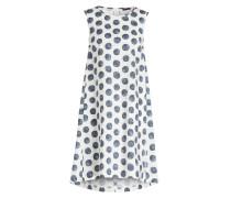 Kleid - blau/ offwhite