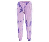 Hose im Jogging-Stil - violett