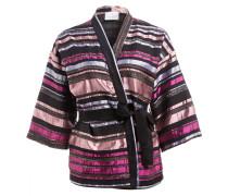 Kimono - rosa/ schwarz/ pink