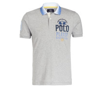 Piqué-Poloshirt BRAM Regular-Fit - grau