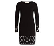 Kleid mit Schmuckstücke - black