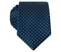 Krawatte - türkis/ schwarz