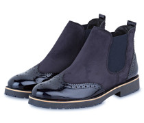 Chelsea-Boots - nachtblau