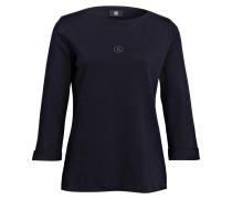 Shirt FLORENA mit 3/4-Arm - dunkelblau