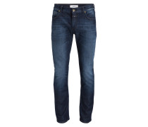Jeans Slim-Fit - q7 authentic dark wash