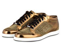 Sneaker MIAMI - gold metallic