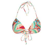 Push-up-Bikini-Top WILD HEART mit Strassbesatz