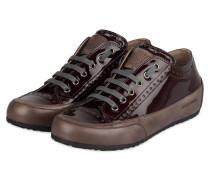 Lack-Sneaker ROCK - braun